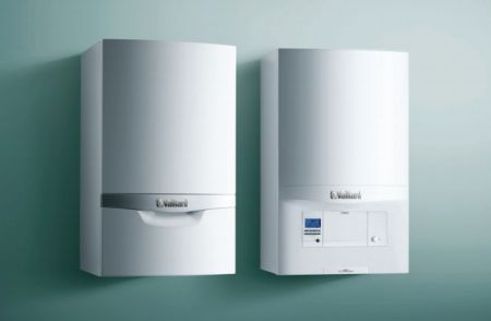 Photo of two Vaillant boilers